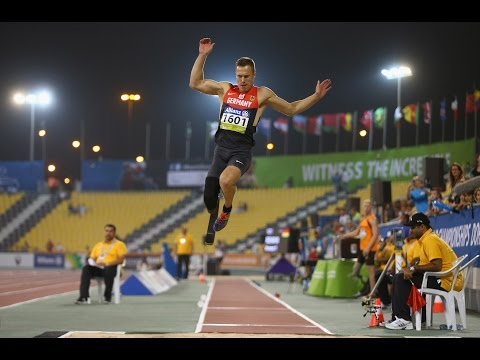 Men's long jump T44 | final |  2015 IPC Athletics World Championships Doha