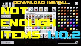 Baixar - Not Enough Items 1 10 2 Minecraft How To Download And Install Nei With Forge On Windows Grátis