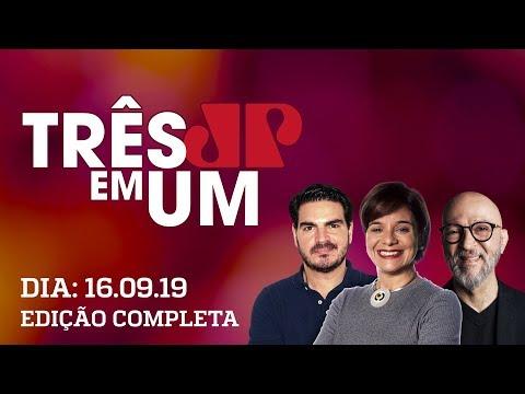 3 em 1 - 16/09/2019 - Atuação de Flávio Bolsonaro contra CPI da Lava Toga convulsiona bolsonarismo