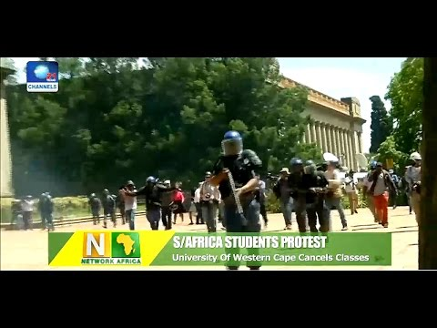 Network Africa: South African University Cancels Classes Over Students Protest