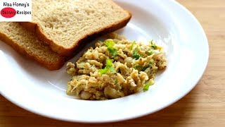 Breakfast In 5 Minutes - Hostel Kettle Cooking - Scrambled Egg Recipe - Student Weight Loss Recipes