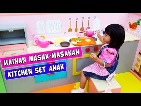 Mainan Anak Kitchen Set Besar Bermain Masak-Masakan Anak Perempuan