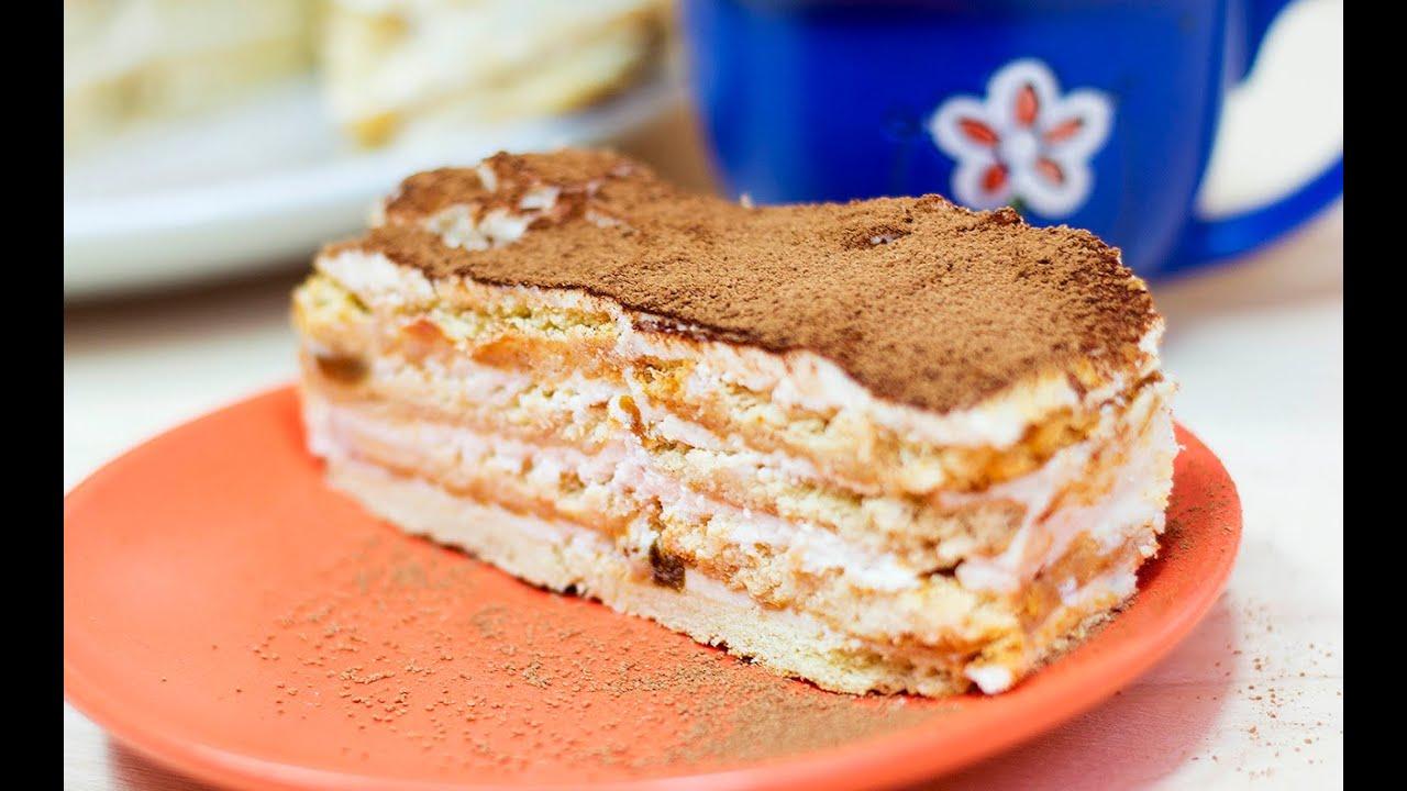 Торт своими руками без выпечки рецепт