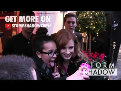 EXCLUSIVE: Oscar nominated Jessica Chastain in Paris for promotion