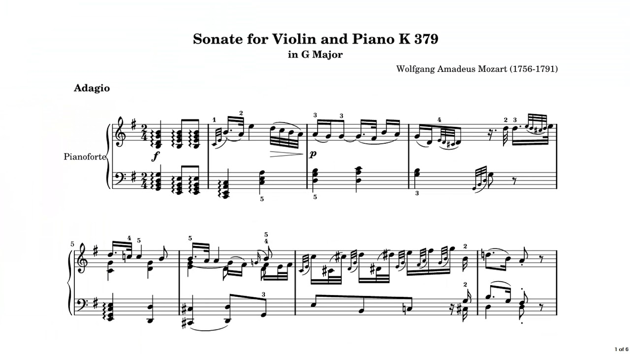 Enlarging Music for VI Musicians