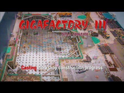 Download #221 #TeslaShanghai\Feb.14.2021\Casting Workshop construction progress\4K