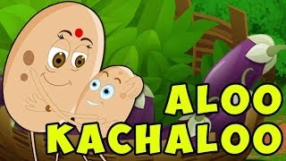 Aloo Kachaloo Hindi Poem - Hindi Nursery Rhymes for Children