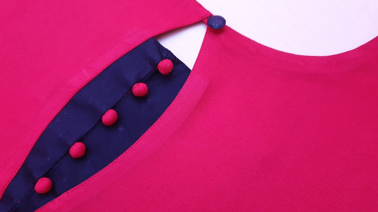 Download Beautiful and Simple Potli Neck Design for Kurti/Suit Cutting and Stitching