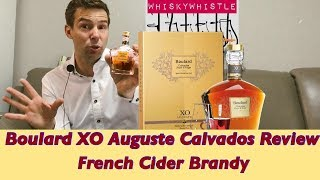 Boulard XO Auguste Calvados Pays d'Auge Brandy Review WhiskyWhistle 207