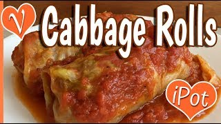 Recipe test: vegan russian cabbage rolls instant pot and baked