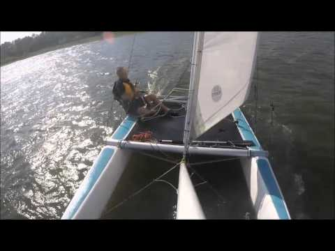 NACRA 5.0 on ICW at Myrtle Grove