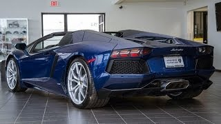 Lamborghini Aventador LP700 4 Roadster 2014 Videos
