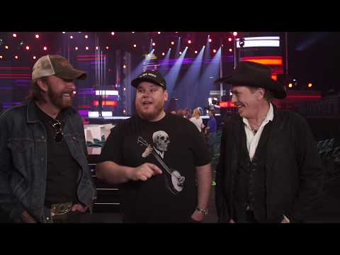 Brooks & Dunn Rehearse With Luke Combs For The 54th ACM Awards