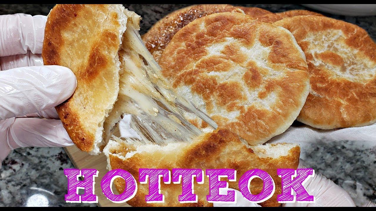 My Mother In Law's Hotteok Recipe | Korean Street Food ... Hoddeok Recipe
