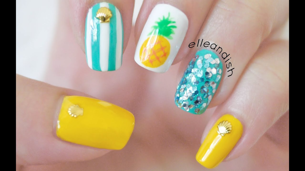 Nails art 2018 summer