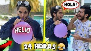24 HORAS HABLANDO COMO UNA ARDILLA!! *muy divertido*