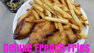 Deluxe French Fries Mukbang