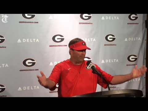 Kirby Smart gives updates on injuries, offensive line
