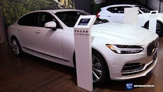 2019 Volvo S90 - Exterior and Interior Walkaround - 2019 Montreal Auto Show