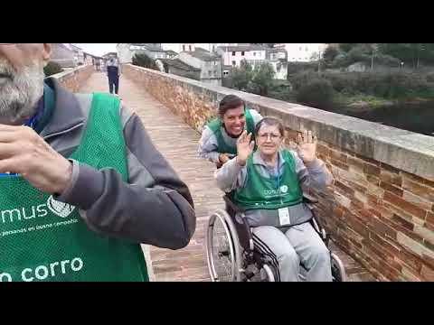Caminata por el Miño en el Día del Alzhéimer