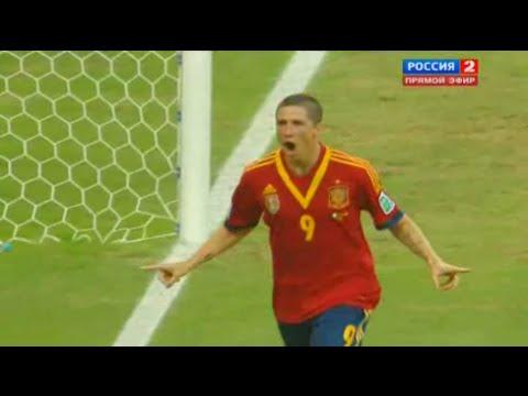 Fernando Torres vs Nigeria Confederations Cup 2013