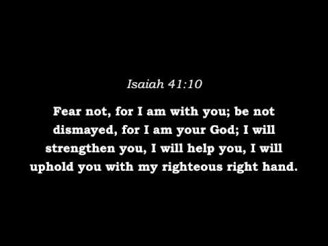 Bible Verses About Fear And Anxiety  Youtube