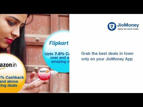 Get Extra Cashback when you shop through JioMoney-Cash pe Cash