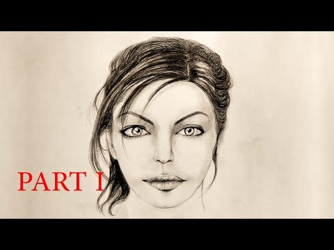 How to Draw a Beautiful Female Face (Part 1)