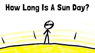 How Long Is A Day On The Sun?
