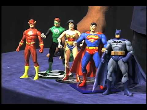Fantastic Forum Cool Toys Segment - DC Direct Justice League Action Figures