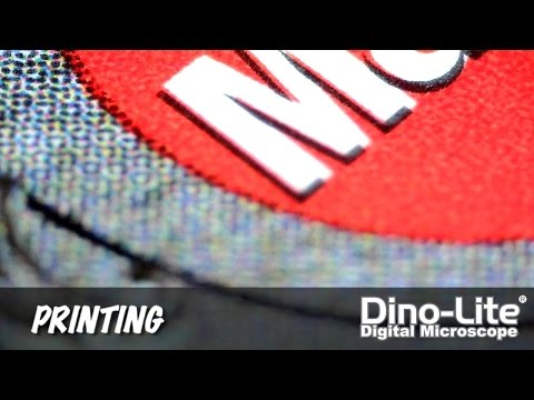 Dino-Lite Applications: Printing