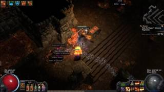 Path of Exile - Vaults of Atziri Unique Vaal Pyramid Map