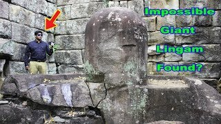 1000 Year Old Lost Lingam Found? Forgotten Hindu Ruins of Cambodia