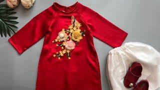 #92 Đầm Bé Gái 1 Tuổi Giá Rẻ