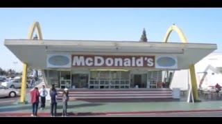 World's Oldest McDonald's Restaurant - Downey - California