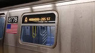 R160 A train to Norwood 205 Street via Concourse (Codebreak)