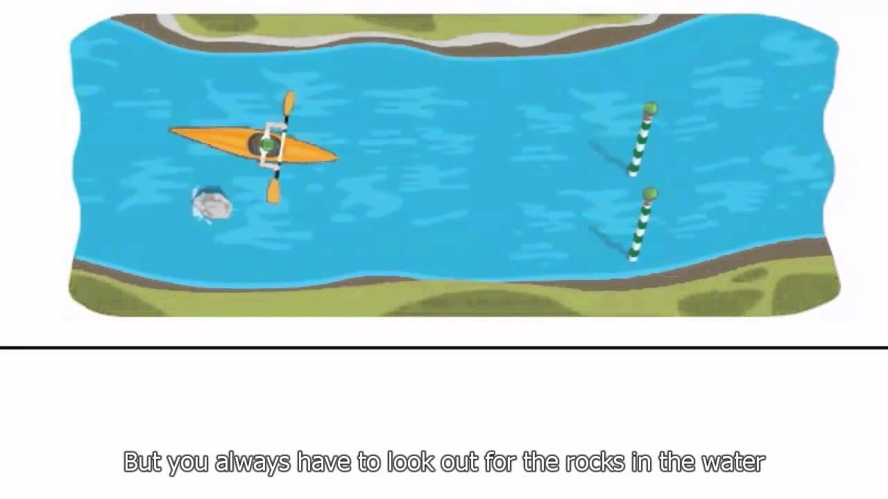 London 2012 Slalom Canoe Google Doodle Interactive Game