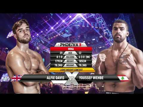 Alfie Davis vs Youssef Wehbe Full Fight (MMA) - Phoenix 3 London