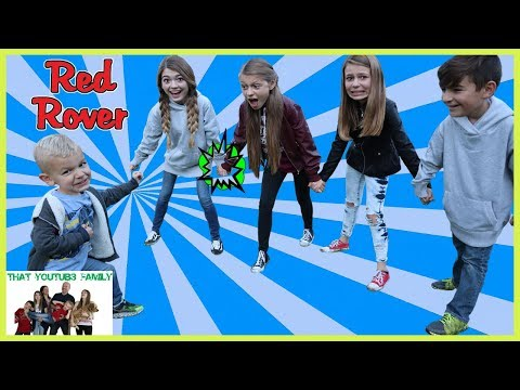 PLAYGROUND WARS - Red Rover Red Rover Game / That YouTub3 Family I The Adventurers