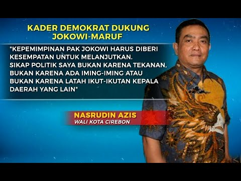 Dialog: Lagi, Kader Demokrat Pindah Haluan Dukung Jokowi- Ma'ruf [1] Mp3