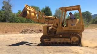 1971 CAT 955 Crawler Loader / Ashe Equipment