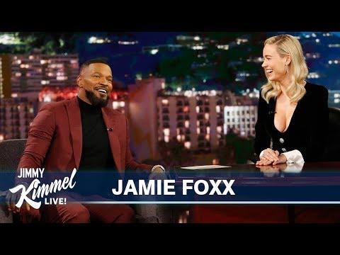 Guest Host Brie Larson Interviews Jamie Foxx