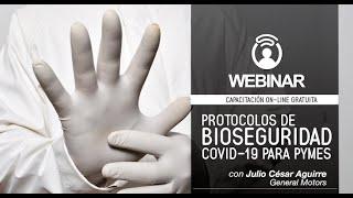 Webinar CERES: PROTOCOLOS DE BIOSEGURIDAD COVID 19 PARA PYMES