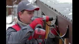 видео Водоотливы для крыши: металлические, пластиковые,расчет, монтаж своими руками