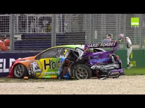2017 Supercars - Albert Park - Race 1 [HD]