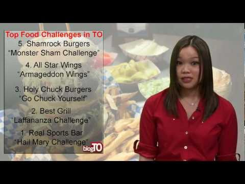 Blog TO's Top 5 Food Challenges in Toronto - Ryerson Broadcast News