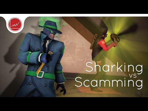 [TF2] Sharking vs Scamming: What's the Difference?