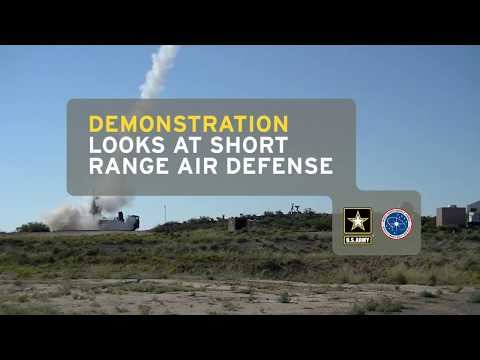 Demonstration looks at short range air defense