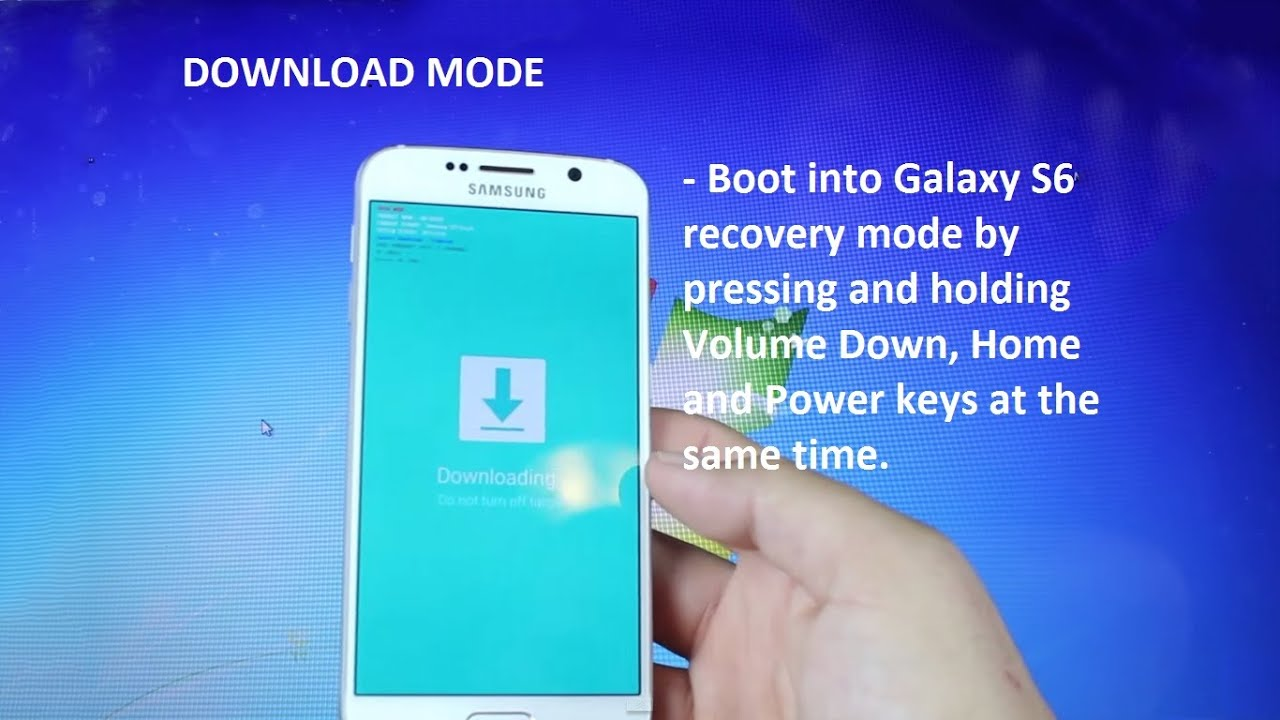 How to enter DOWNLOAD MODE on S6 edge and S6     At&t, Sprint, T-mobile,  Verizon, US cellular