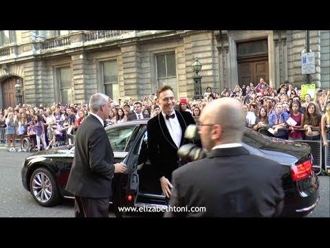 Tom Hiddleston GQ Awards 2013 Arrival